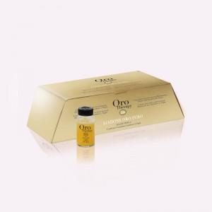 Αμπούλες ενδυνάμωσης και λάμψης 12 τεμάχια x 10 ml Oro therapy
