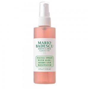 Mario Badescu Facial Spray Ανανέωσης με Αλόη, Βότανα και Ροδόνερο, 118ml